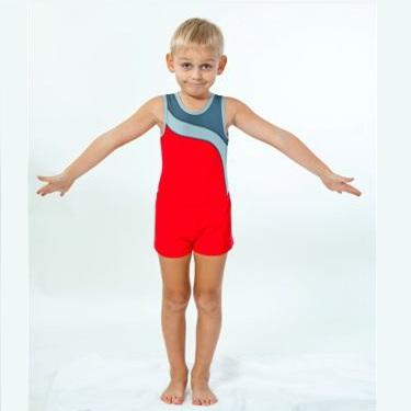 Гимнастический купальник для мальчиков